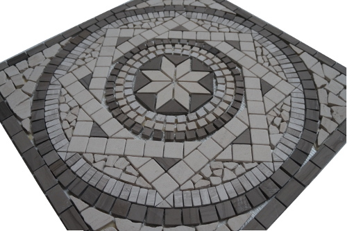 Mozaiek tegels medallion 60x60cm 053 Topmozaiek24