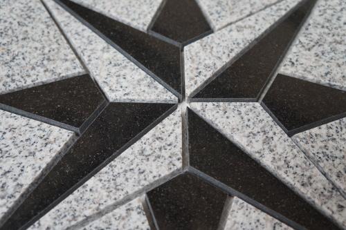 Mozaiek tegel medallion 67x67cm 036 Topmozaiek24