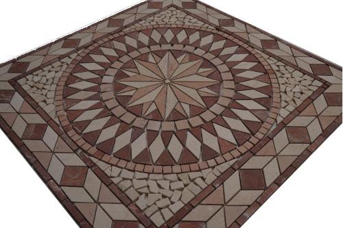 Mozaiek tegels medallion 67x67cm 055 Topmozaiek24
