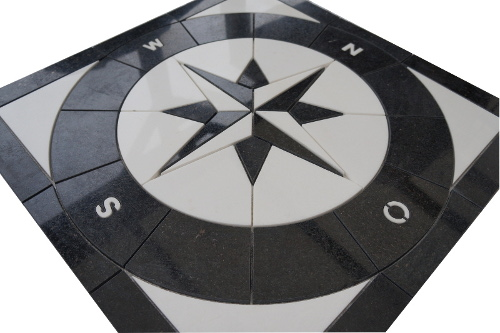 Mozaiek tegels medallion 67x67cm 060 Topmozaiek24