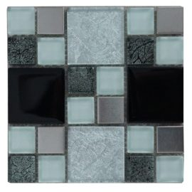 Mozaiek tegels rvs glas 15x15cm M711-15(1) Topmozaiek24