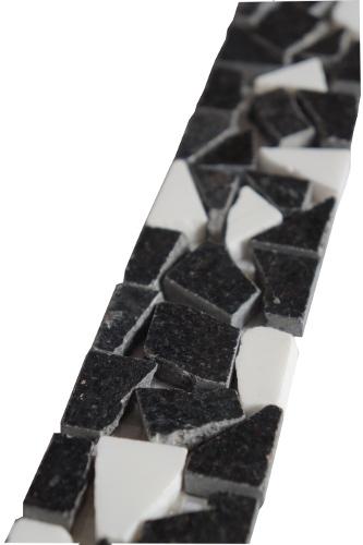 Mozaiek tegelstrip graniet 5x30cm B470 Topmozaiek24