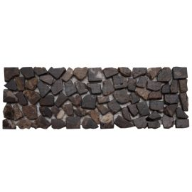 Mozaiek tegelstrip marmer 10x30cm B491 Topmozaiek24