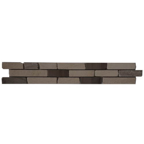 Mozaiek tegelstrip marmer 5x30cm B032 Topmozaiek24