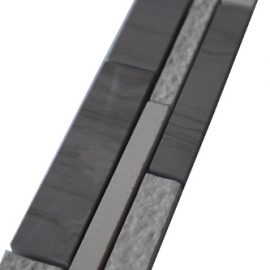 Mozaiek tegelstrip marmer 5x30cm B038 Topmozaiek24