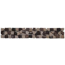 Mozaiek tegelstrip marmer 5x30cm B482 Topmozaiek24