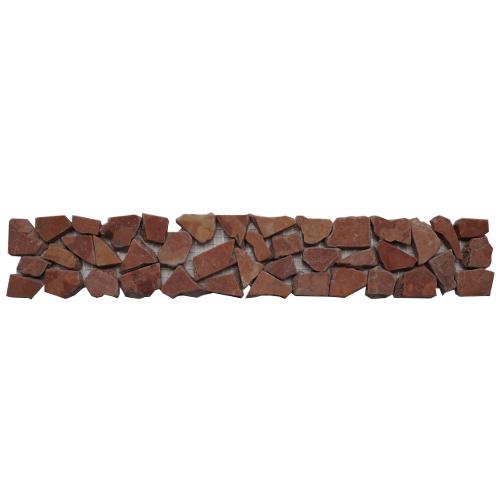 Mozaiek tegelstrip marmer 5x30cm B486 Topmozaiek24