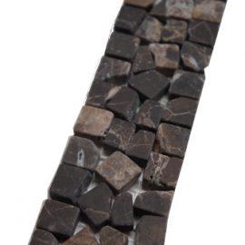 Mozaiek tegelstrip marmer 5x30cm B490(2) Topmozaiek24