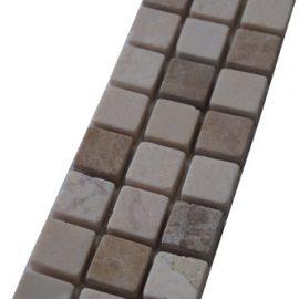 Mozaiek tegelstrip marmer 5x30cm B521 Topmozaiek24