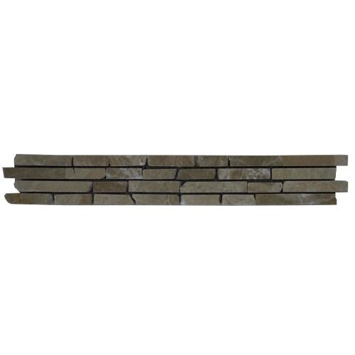 Mozaiek tegelstrip marmer 5x30cm B611 Topmozaiek24