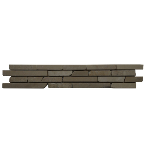 Mozaiek tegelstrip marmer 5x30cm B612 Topmozaiek24
