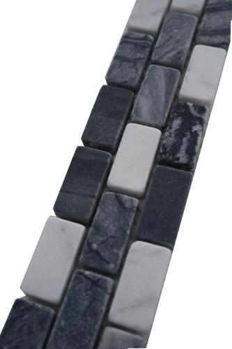 Mozaiek tegelstrip marmer 5x30cm B617 Topmozaiek24
