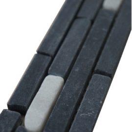 Mozaiek tegelstrip marmer 5x30cm B621 Topmozaiek24