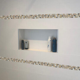 B468 badkamer strip inbouw