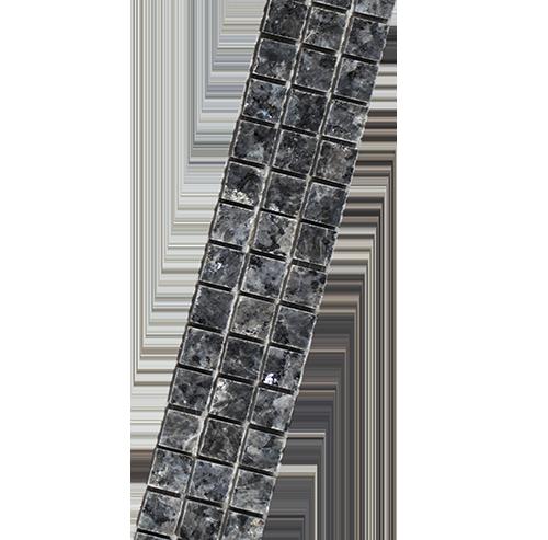 strip Blue Pearl 1,5 diagonaal
