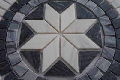 Mozaiek tegels medallion