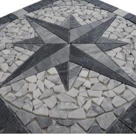 Bianco Carrara natuursteen tegels