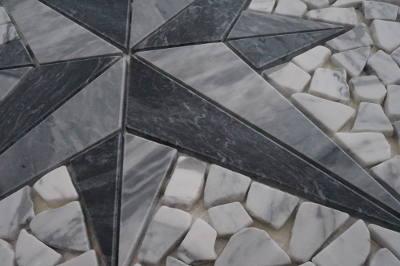 Bianco Carrara mozaiek tegels