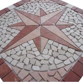 Rosso Verona marmer natuursteen tegels