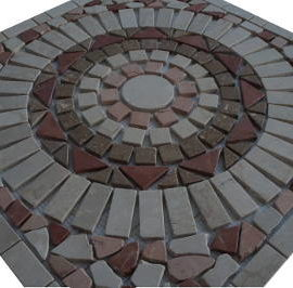 Mozaiek tegels steentjes