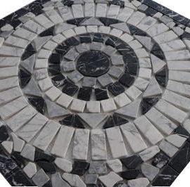 Bianco Carrara natuursteen marmer tegels