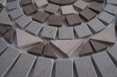 Mozaiek tegels van Yawood marmer