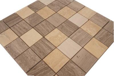 Mozaiek vloertegels voor keunen en badkamer