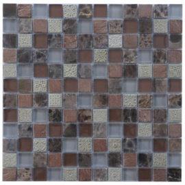 Mozaiek tegels van marmer en glas