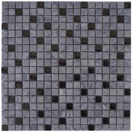 Glasmozaiek en marmer natuursteen mozaiek tegels