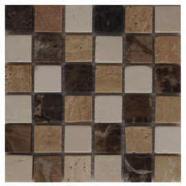 Mozaiek tegel marmer 15x15cm M571-15 Topmozaiek24