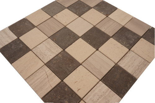 Mozaiek tegel marmer 30x30cm M042 Topmozaiek24