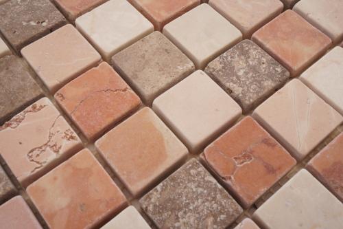Mozaiek tegels marmer 30x30cm M667-30 Topmozaiek24