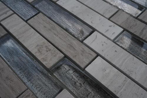 Glas Mozaiek Tegels : Mozaiek tegels van marmer en glas met d effecten topmozaiek
