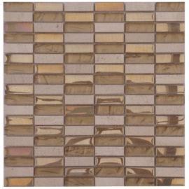 Mozaiek tegels restpartijen marmer glas