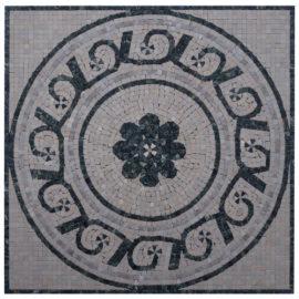 Mozaiek tegel medallion 60x60cm 074 Topmozaiek24