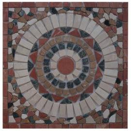 Mozaiek tegel medallion 60x60cm 51032 Topmozaiek24