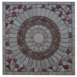 Mozaiek tegel medallion 60x60cm 51033 Topmozaiek24