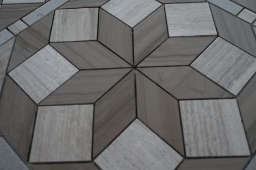 Mozaiek Matjes Badkamer : Mozaiek tegel medallion in modern design topmozaiek24 de grootste!