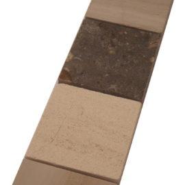 Mozaiek tegelstrip marmer 5x30cm B042(2) Topmozaiek24