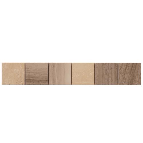 Mozaiek tegelstrips marmer 5x30cm B043 Topmozaiek24