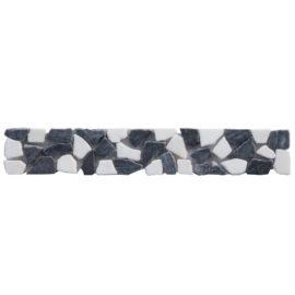 Mozaiek tegelstrip marmer 5x30cm B492 Topmozaiek24