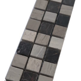 Mozaiek tegelstrip marmer 5x30cm B675 Topmozaiek24