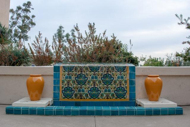 Matjes mozaiek interieur